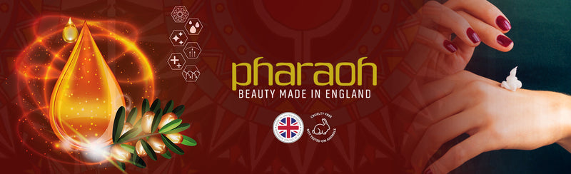Pharaoh London Cosmetics UK ltd | Beauty Made in England - 160 City Road London EC1V 2NX tel: 012244 786 000