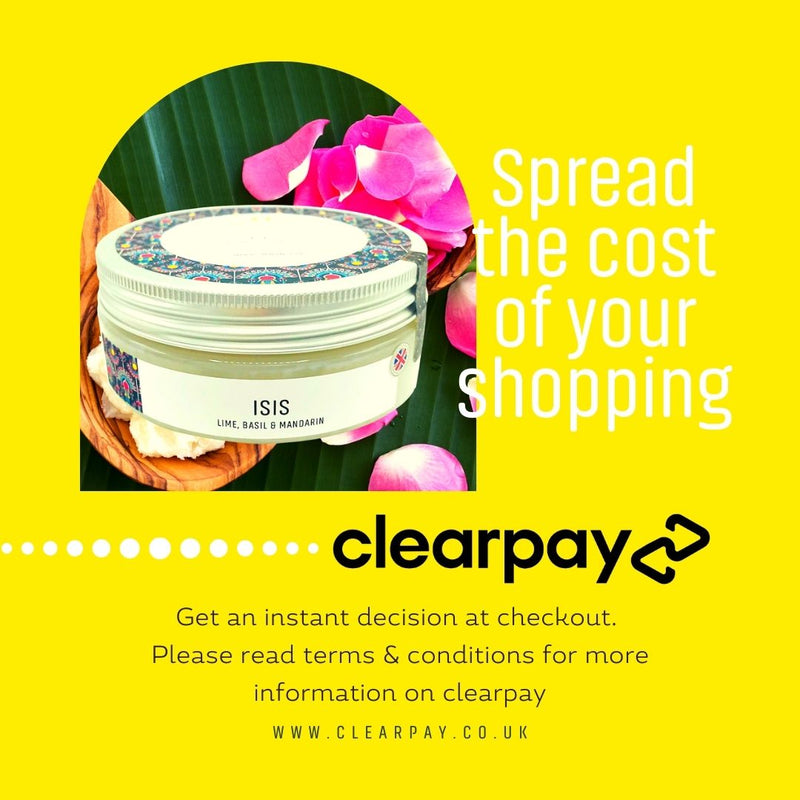 Buy Now Pay Later Clearpay UK - discover beauty made in England | Pharaoh London Cosmetics UK - free uk delivery when you spend £35