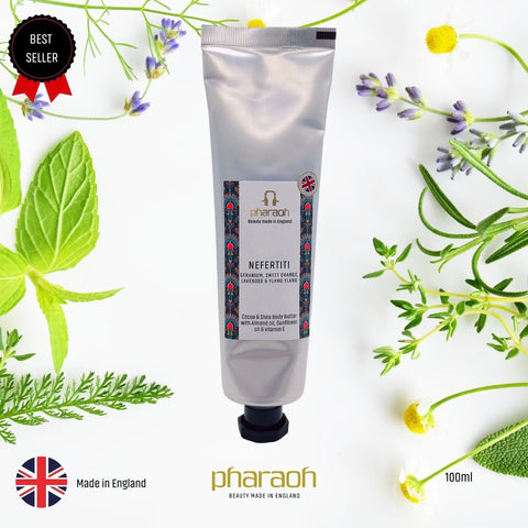 Rich Shea Cocoa Butter Cream Twin Gift Pack 200g £19 | Pharaoh London Cosmetics UK - discover beauty made in England