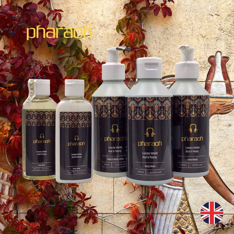 Velvet Peony & Oud Hand Wash 250ml | Pharaoh London Cosmetics - discover beauty made in England