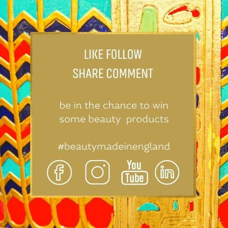 discover beauty made in England | Pharaoh London Cosmetics - LIKE FOLLOW SHARE COMMENT WIN