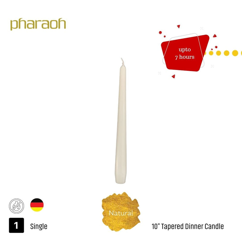 "10"" Tapered Dinner Candle Collection 