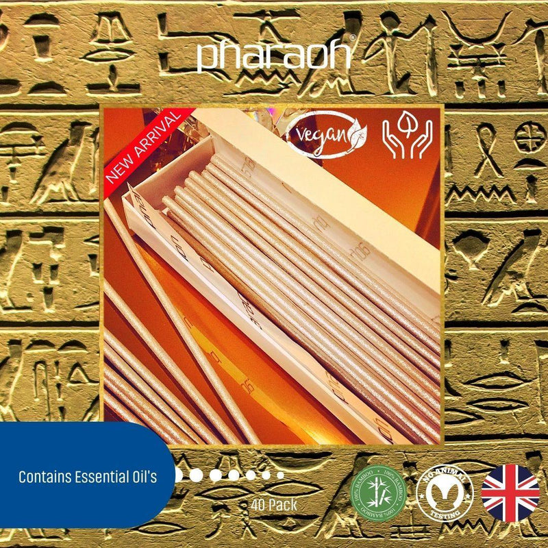 Natural Luxury Incense Collection 40 Pack - Pharaoh London Cosmetics UK Ltd