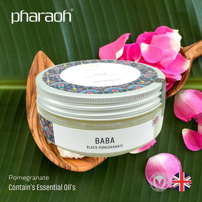 SPA Essentials BABA Luxury Exfoliating Body Scrub 300g (Pomegranate) CLEARANCE
