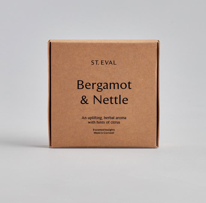 ST. EVAL 6 Bergamot & Nettle Scented Tea-lights