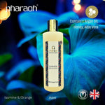 Cleopatra Luxury Bath & Shower Cream (Orange & Jasmine) with Argan Oil 250ml - Pharaoh London Cosmetics UK Ltd