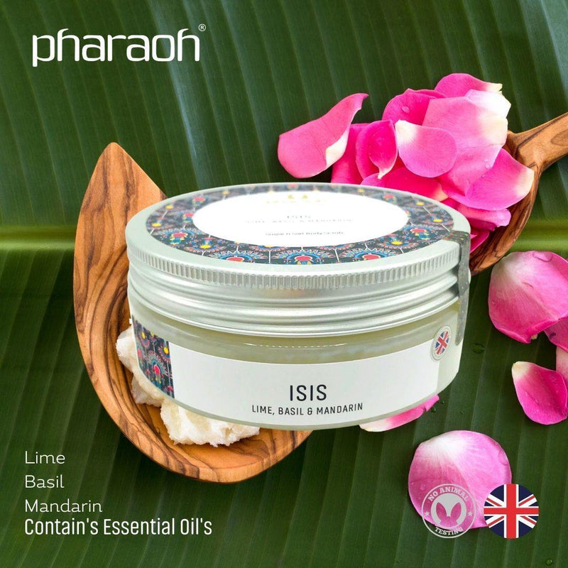 SPA Essentials ISIS Luxury Exfoliating Body Scrub 300g (Lime Basil Mandarin)