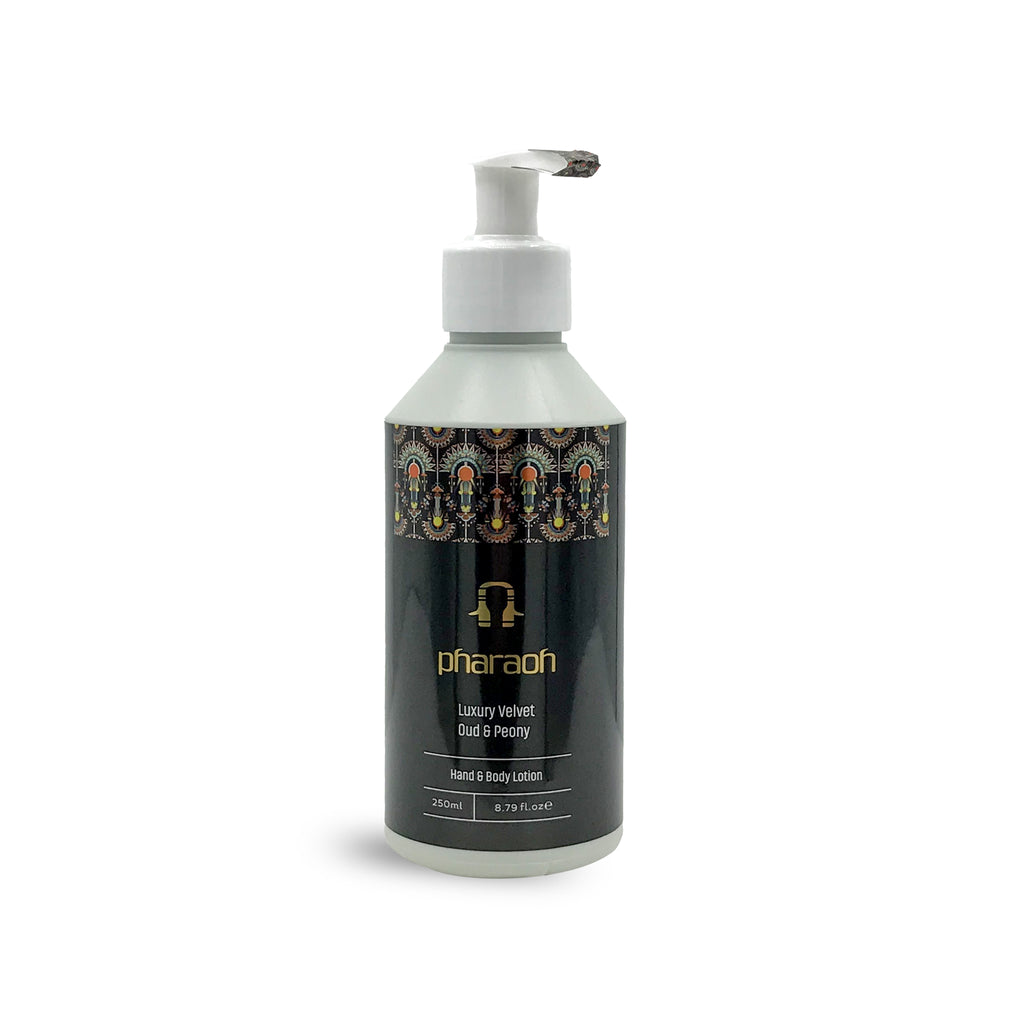 Luxury Peony & Oud Hand Body & Lotion 250ml - pharaohlondon