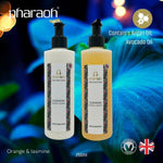 Cleopatra (Jasmine Orange) Bath Shower Cream & Hand Body Lotion TWIN GIFT Pack - beauty made in England