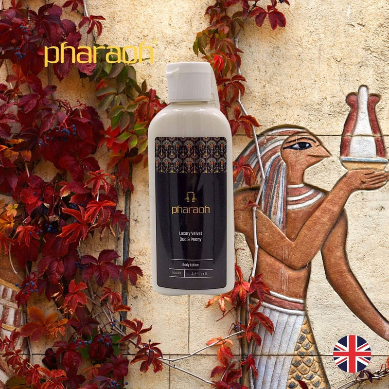 Luxury Travel Peony & Oud Body Wash 100ml | Pharaoh London Cosmetics UK - discover beauty made in England