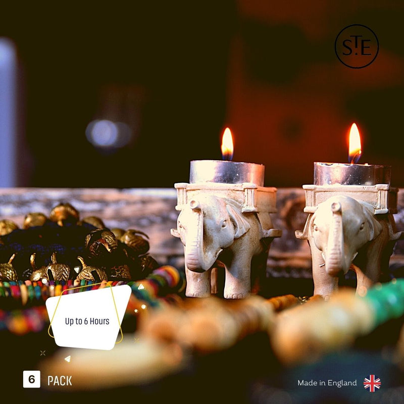 ST. EVAL 9 Bergamot & Nettle Scented Tea-lights | Pharaoh London Cosmetics UK