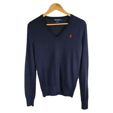 Long Sleeve Navy Jumper from Ralph Lauren