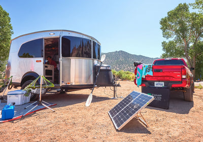 Airstream Trailer Factory Solar Options Explained