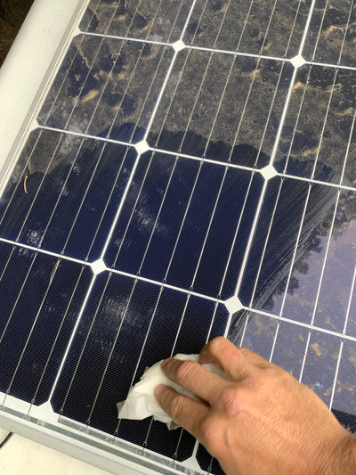 How to clean Zamp Solar Panels