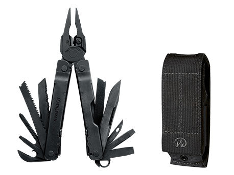 SUPERTOOL 300 BLACK LEATHERMAN