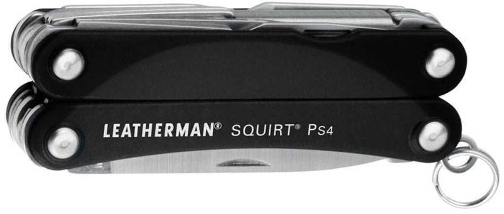 SQUIRT PS4 BLACK CLAMPACK LEATHERMAN