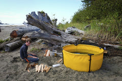 Nomad Collapsible Tub with Frame.