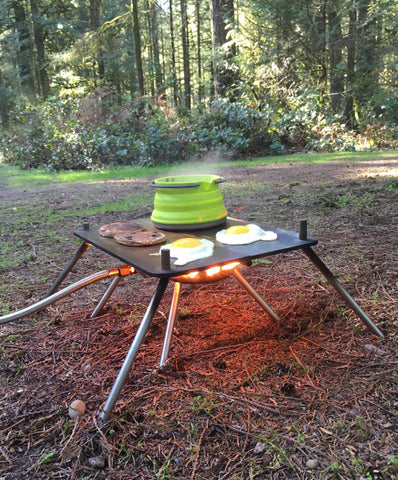 Pocket Campfire & Folding Griddle (FREE SHIPPING)