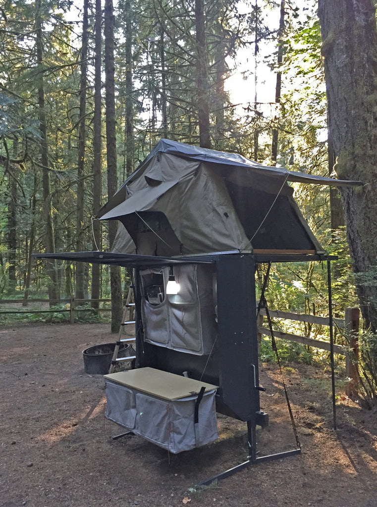 Nomad Hitch Camper With Roof Top Tent Amp Annex The