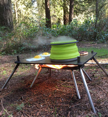 Pocket Campfire & Folding Griddle