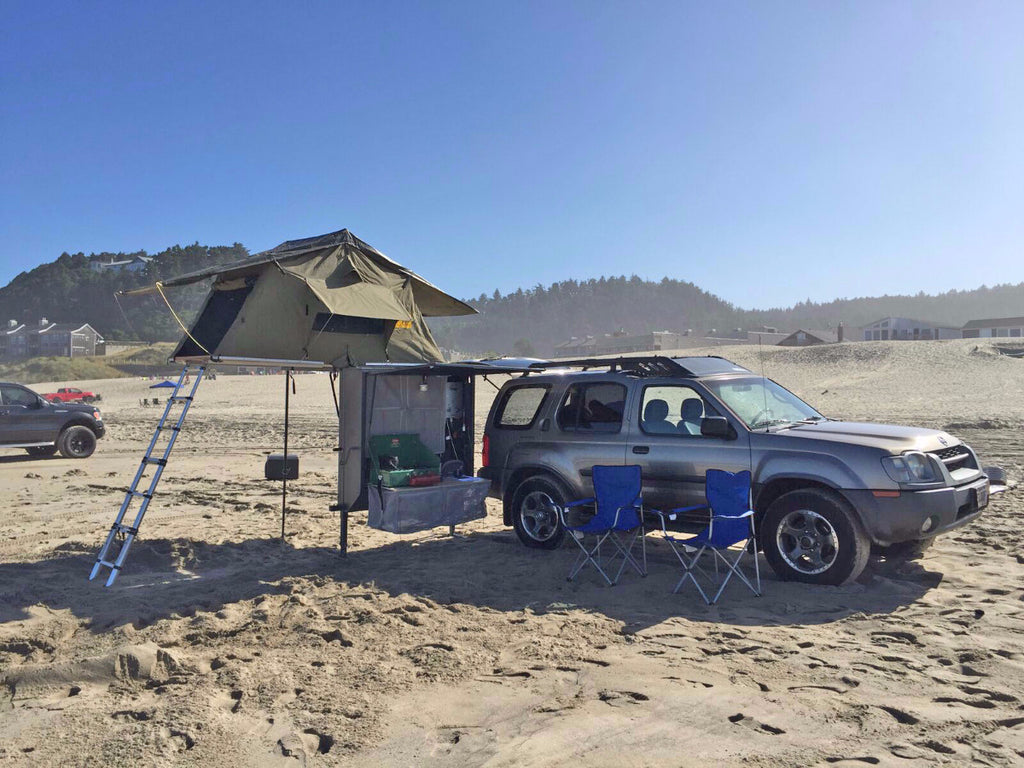 Adjustable Hitch Receiver >> Nomad Hitch Camper with Roof Top Tent & Annex – The Original Nomad