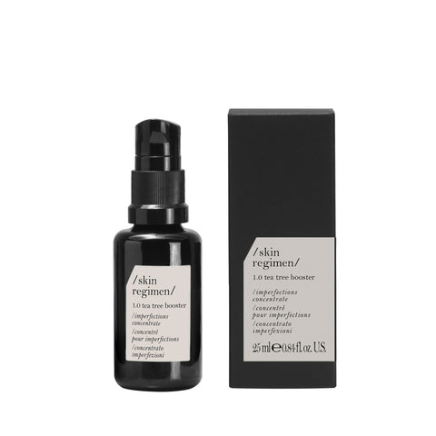 Endurlífgandi tea tree serum skin regimen