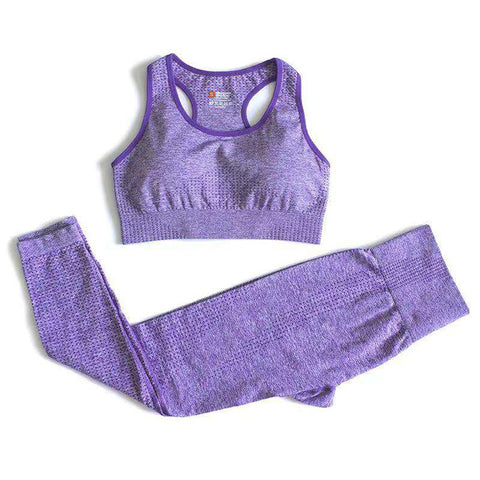 2PC Seamless Yoga Set