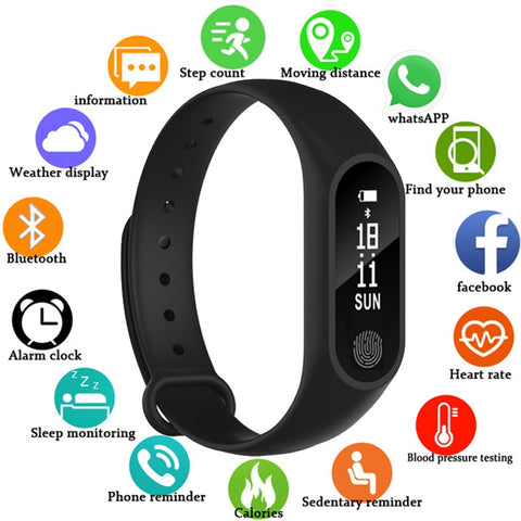 Water Resistant Smart Watch For Men and Women,Heart Rate, Blood Pressure, Phone