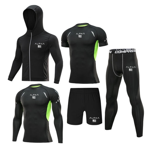 5pc Compression Tracksuit