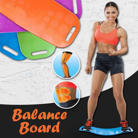 Twisting Fitness Balance Board for Core Workout