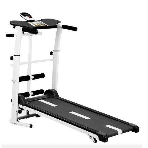 Folding Mechanical Treadmill