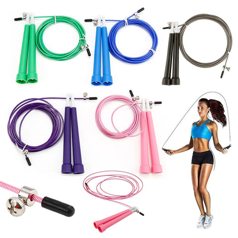3m Steel Wire Adjustable Jump Rope