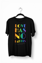 Load image into Gallery viewer, Love Has No Labels T-shirt (Unisex)