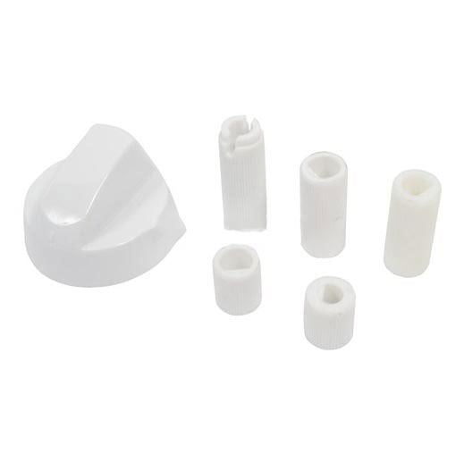 White Universal Cooker Control Knob