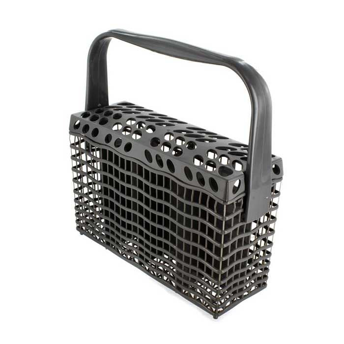 Genuine Zanussi Dark Grey Slimline Dishwasher Cutlery Basket