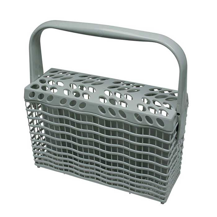 Genuine Electrolux Light Grey Slimline Dishwasher Cutlery Basket