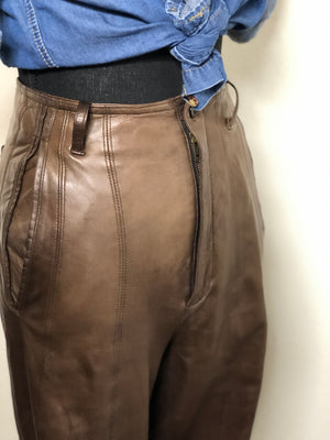 So Leather for L'Zinger Pants Size 2