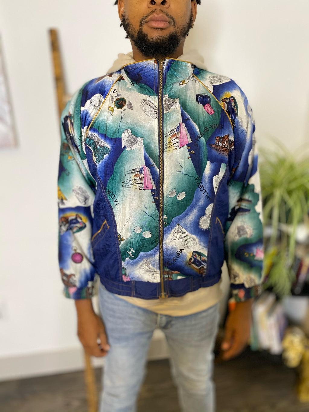 Vintage World Sailor Wind Breaker.