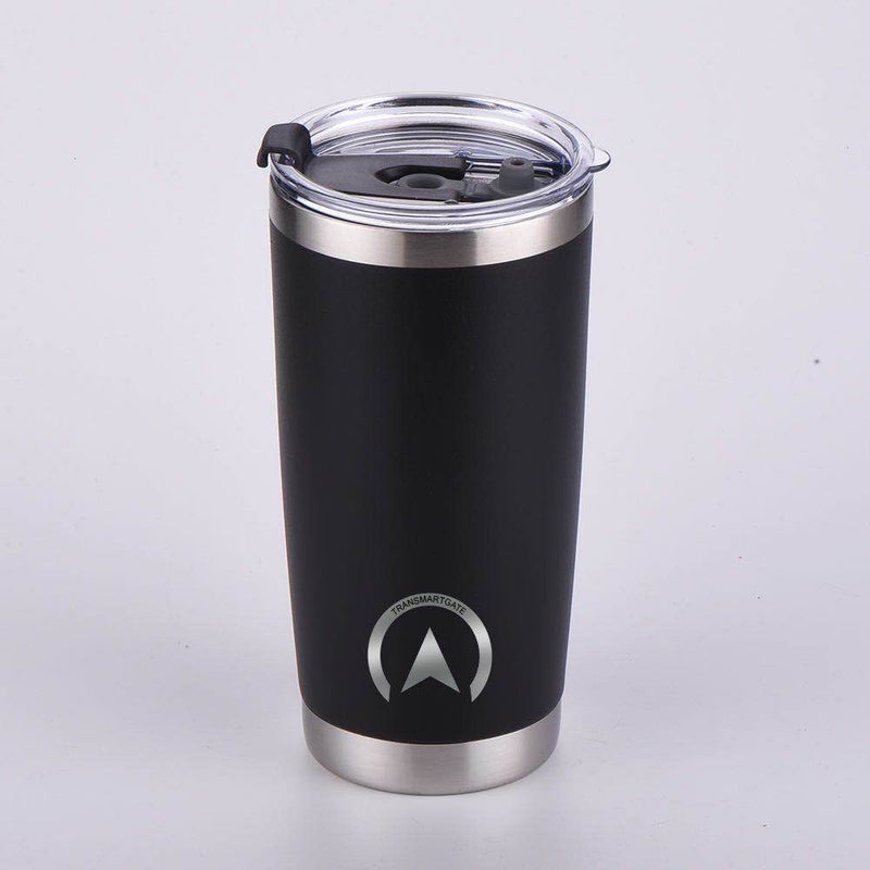 20 oz Stainless Steel Coffee Mug with Transparent Modern-designed Cover - Transmartgate - Amazing marketplace for Boutique Items.