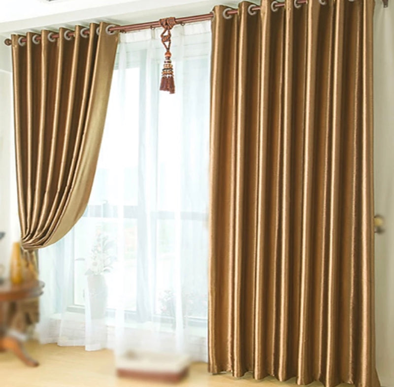 Bed Room Custom Made Blackout Curtains Drapes Two Panels Embossed / Bedroom - Transmartgate - Amazing marketplace for Boutique Items.