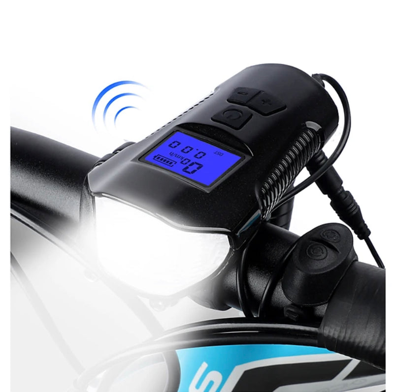 LED Front Bike Light Bike Light with Horn Bike Computer Speedometer Bicycle Cycling Waterproof 3 in 1 Multiple Modes Smart Induction 350 lm Rechargeable USB White Cycling / Bike / Super Bright / 120 - Transmartgate - Amazing marketplace for Boutique Items.