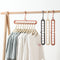 2pcs Clothes Coat Hanger Organizer Multi-port Support Drying Racks Plastic Scarf  Storage Rack Hangers - Transmartgate - Amazing marketplace for Boutique Items.