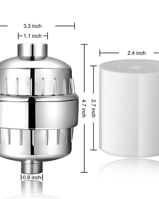 High Volume Tap Water Filter System Kitchen Bath Shower Water Faucet Filtration Adapter with Filter Change Reminder, Reduces Lead, BPA Free, Fits Standard Faucets - Transmartgate - Amazing marketplace for Boutique Items.