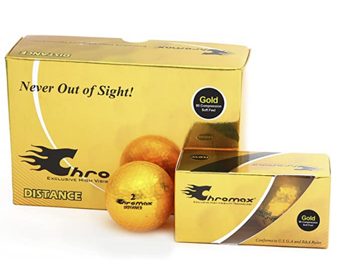 Chromax Optimum Visibility Golf Balls