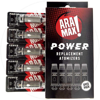 Aramax Power Replacement Coils 5 Pack