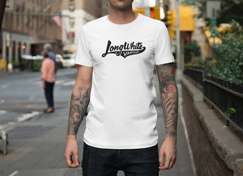 Long White Vapour T-Shirt