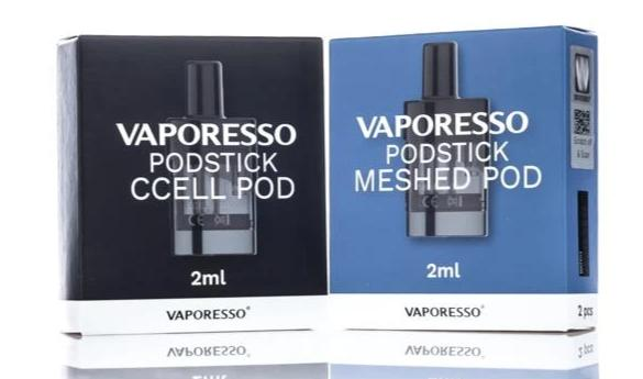 Vaporesso PodStick Replacement Pods 2 Pack
