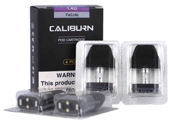 UWELL Caliburn/Koko Replacement Pods 4 Pack