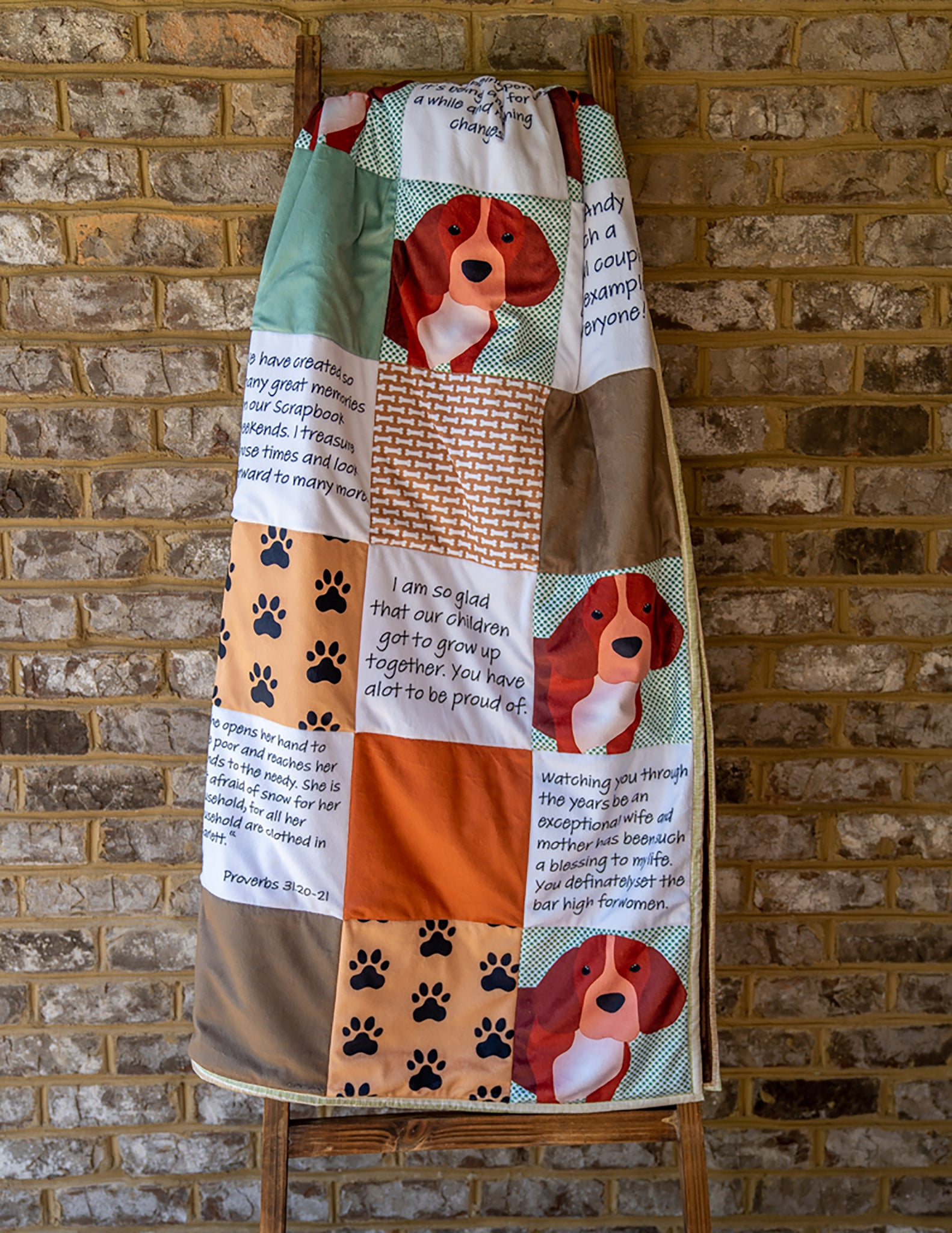 Quilt For Dog Lovers