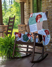 Load image into Gallery viewer, Personalized Quilt With Dog - Medium Size